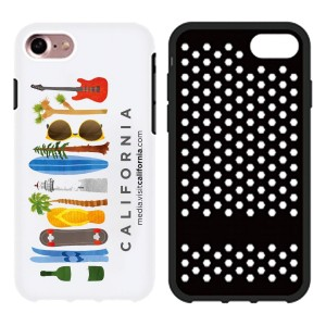 Double Layer Hard Plastic and Silicone Gel Phone Case