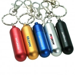 Metallic Pill Bottle shaped USB