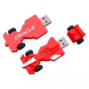 Custom Formula 1 Racing Car-Shaped USB Flash Drive
