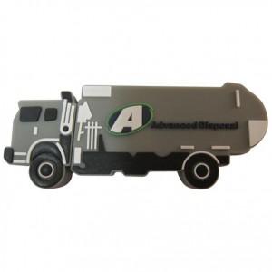 2D Garbage Trash Truck USB Drive