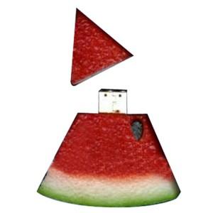 Custom Watermelon Slice USB Flash Drive