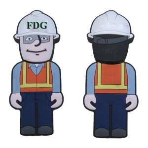 Construction Worker USB Flash Drive