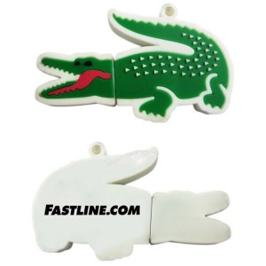 Curved Alligator USB Flash Drive