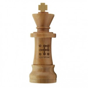 Wooden King Chess piece Shaped USB Flash Drive