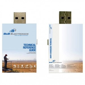 Book Slide Out USB Flash Drive