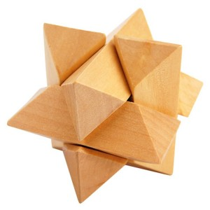 Star Wooden Puzzle