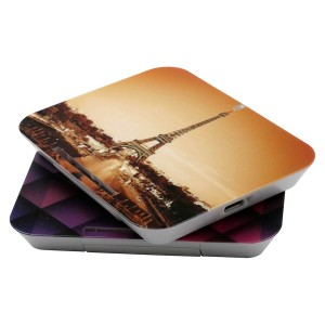 Wireless Charger with Full Color Printing and Phone Stand