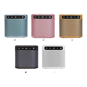 RockStar Multi-Function Desktop Bluetooth 5.0 Speaker, FM Radio, Wireless Charger And 2200mAh Power Bank with Custom Greeting