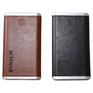 Executive Leatherette Power Bank