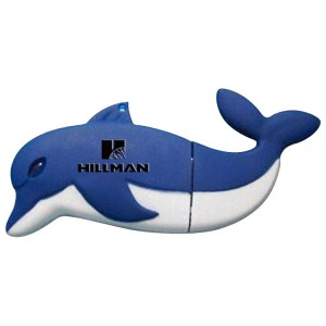 Custom Dolphin USB Flash Drive