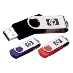 Swivel USB Drive in a Wide Variety of Colors - USB 3.0