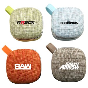 Fabric Textile Bluetooth Speaker