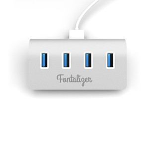 USB 3.0 hub and charging station