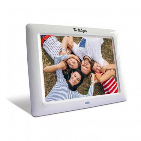 "High Resolution 8"" Digital Picture Frame and Audio / Video Player"