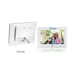 "High Resolution 10"" Digital Picture Frame and Audio / Video Player"