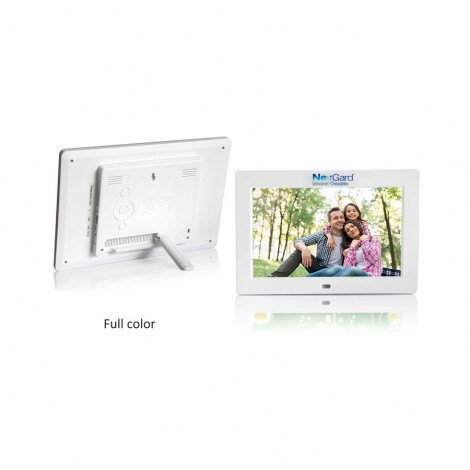 """High Resolution 10"""" Digital Picture Frame and Audio / Video Player"""
