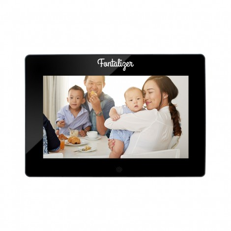 "Digital Picture Frame w/ 10"" Screen"