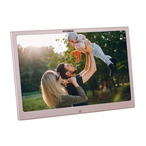 "Metal 12"" Digital Picture Frame"