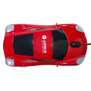 Ferrari Wired Car Mouse Wired
