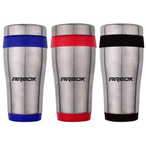 16 Oz. Traveler Contour Stainless Steel Travel Tumbler