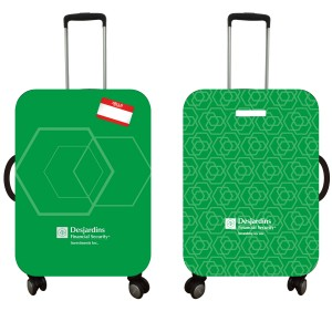 """Weekender Full Color Luggage Cover/Fits 22""""-24"""" size Luggage"""
