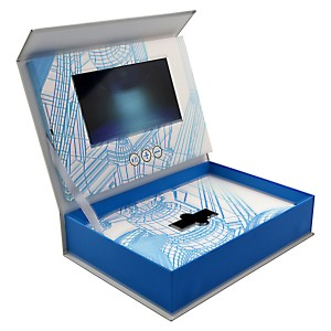 "Custom Designed Video Box with 7"" LCD Screen"