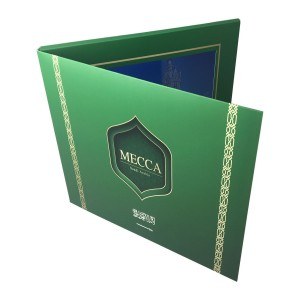 """10.1"""" Video Brochure / Mailer with Full Color Offset Printing"""