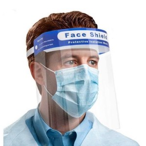 Face Shield With Foam Provides 180 Degree Protection High Quality