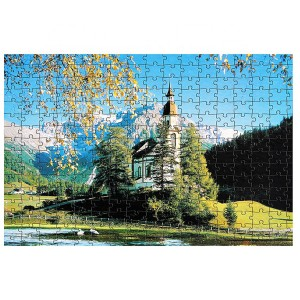 "Custom 1000pcs Jigsaw Puzzle 28.94"" x 20.08"" Any Design Low Minimum"
