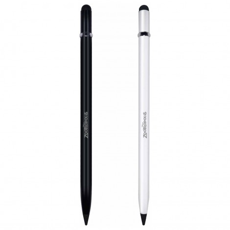 Alloy Metal Lead Free Pencils Write Up to 10000 Meters, Built In Eraser and Stylus