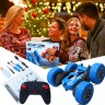 4WD RC Stunt Car 360°Flips Double Sided Rotating with Headlights, Music and Spray
