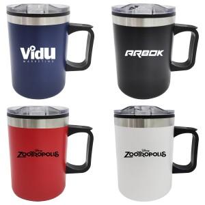 14oz Double Wall Camping Mug with Handle