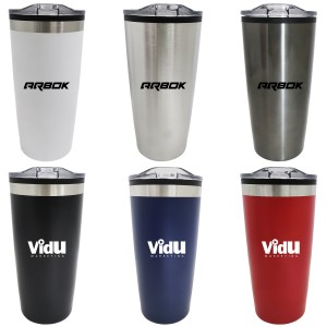 20OZ Double Wall Tumbler with Stainless Steel Outer and Plastic Liner Inside