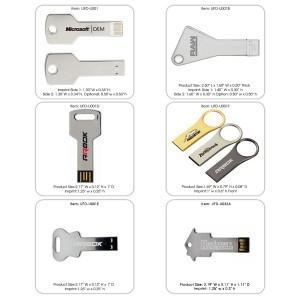 Metal Key Shaped USB Drive