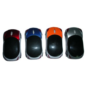 Car Shape Radio Frequency Optical Mouse Wireless