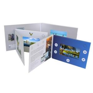 """4.5"""" IPS Screen Video Brochure 800 x 480 Resolution"""