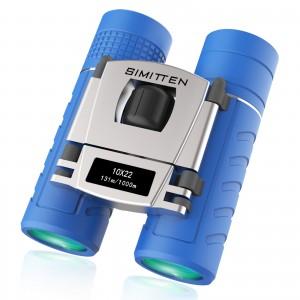 Compact Shock-Proof 10x Magnification Binoculars