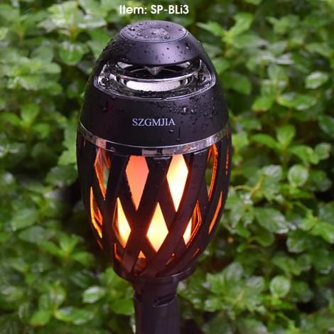 Led Flame Bluetooth Speaker Outdoor Waterproof IP65