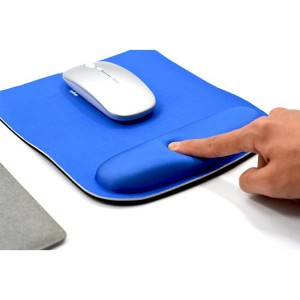 Square Customizable Neoprene Mouse Pad with Ergonomic Support