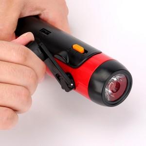 LED Flashlight / Power Bank / FM Radio for Travel, Camping , or Hiking