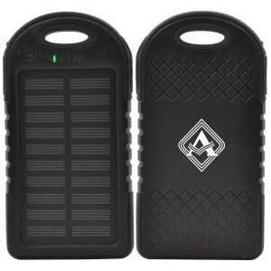 ApolloPower Rechargeable Water -Resistant Solar Power Bank 4000mAh
