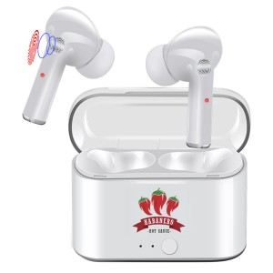 High-Quality Earbuds with Sleek Crystal Clear Case Cover