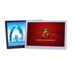 """15"""" Multi-Function Digital Picture Frame Plays Video, Audio and Image, Remote Control Included."""