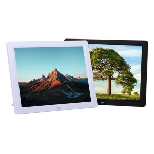"""12"""" Digital Picture Frame Plays Video, Music and Slide Show"""