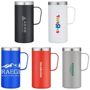 Perfect 20oz Travel Tall Vacuum Sealed Mug with Handle
