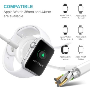 Magnetic Charging Cable for iWatch Compatible with Apple Watch Series 1 to 6