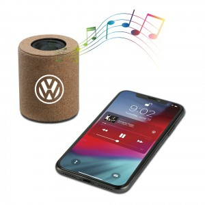 Eco-Friendly Speaker with Cork Material