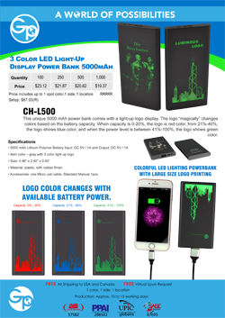 CH-L500 Charger