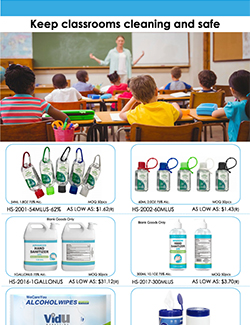 Keep classrooms cleaning and safe(Client Friendly)